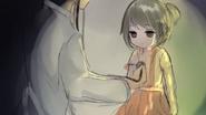 Mała Yan-chan badana