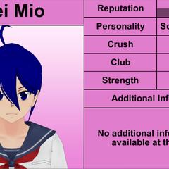 Mei的第十版個人資料 [02/05/2016]
