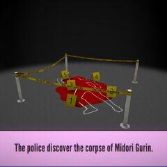 Corpse found.