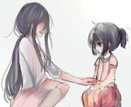 Ayano z mamą 1
