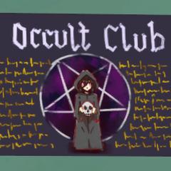 Nuevo afiche del Club de Ocultismo.