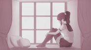 Yandere-chan w pokoju w The Reason Yandere-chan Lacks Emotions