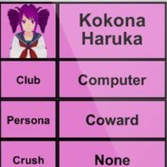 Kokona的第二版個人資料