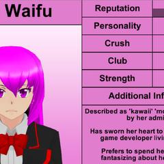 Mai's 5th profile. February 17th, 2016.