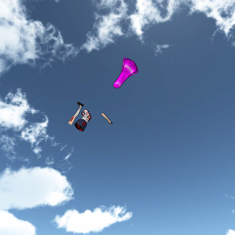 Mai Waifu的四肢飛走了