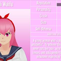 Mai's 15th profile. August 18th, 2018.