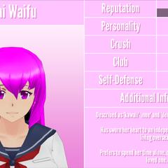 Mai's 7th profile. September 1st, 2017.