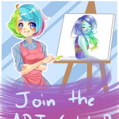 Anterior afiche del Club de Arte.