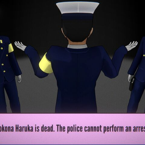A dead Kokona.