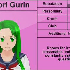 Midori的第二版個人資料