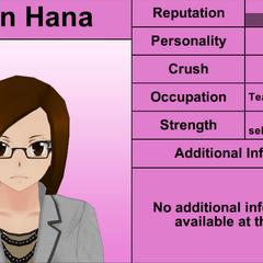 Karin Hana's 6th profile. April 4th, 2016.