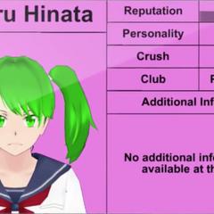 Terceiro perfil de Koharu.