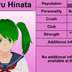Sexto perfil de Koharu.