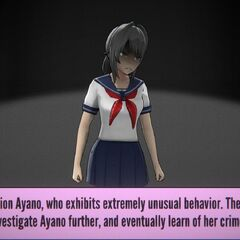 Ayano taken for further questioning due to suspicious behavior and eventually admitting to everything.