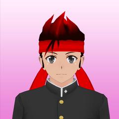Terceiro retrato de Ryuto.