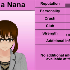 Reina Nana's 5th profile.