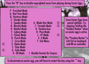 5-1-2017 Easter Eggs menu