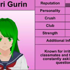 Midori's 3rd profile.