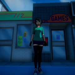 The game store.