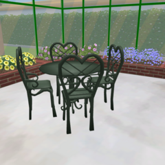 A look inside the Gardening Club's greenhouse in-game.