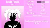 Hanako Yamada Profile June 1st 2020