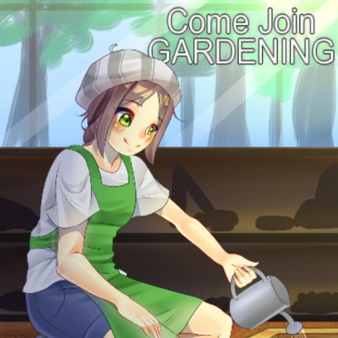 The old poster of the Gardening Club. March 31st, 2016.