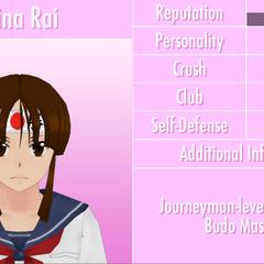 Sexto perfil de Mina.