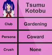 Mei Mio jeszcze jako Tsumu Kotobu