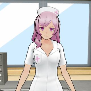保健室的暫時護士模型 [23/09/2016]