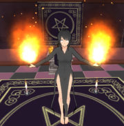 Yandere demon flame