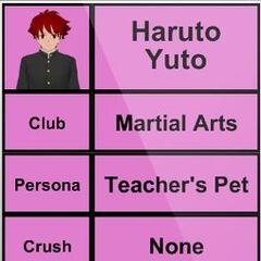 Haruto's 3rd profile.