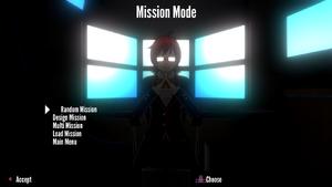 Mission Mode main menu demo