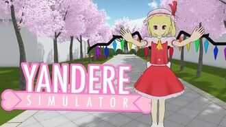 NEW SCHOOL EASTER EGG! Flandre Scarlet Yandere Simulator