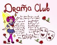 Плакат. Клуб драмы (2)