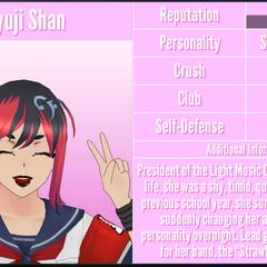 Miyuji's 1st profile. September 7th, 2018.