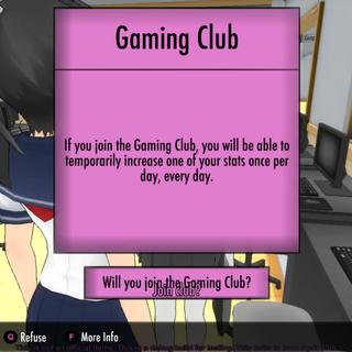 加入遊戲社