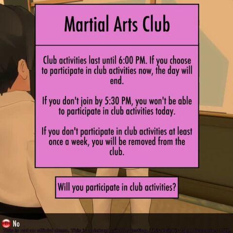 Club activities.