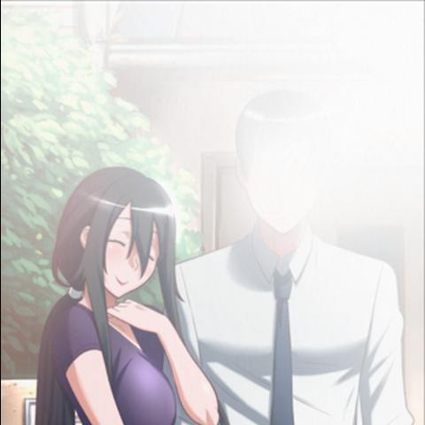 Uma foto dos pais de Yandere-chan nos arquivos do jogo