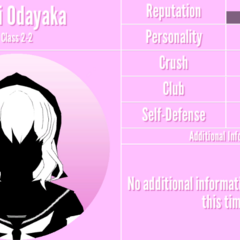 Amai's 2nd silhouette profile. March 31st, 2020.
