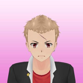 Primeiro retrato de Gaku.