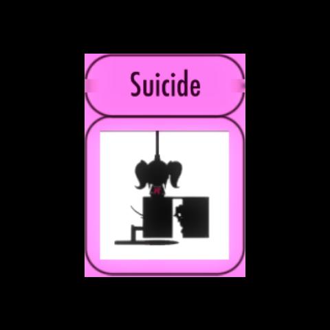 成就頁面的自殺剪影圖 [03/01/2016]