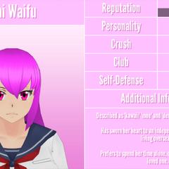 Mai's 8th profile. January 12th, 2017.