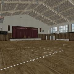 原來的體育館
