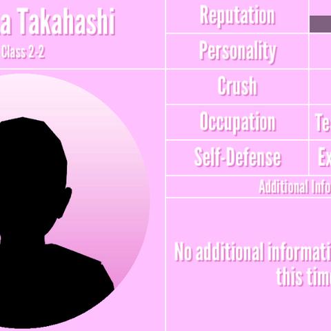 Randomly generated teacher's profile.