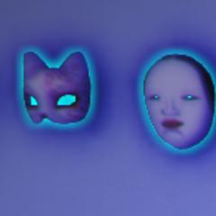 面具以青色輪廓標示 [03/06/2016]