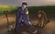 Полиция и собака