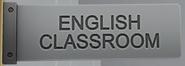 Englisch-Klassenraum