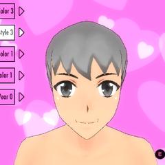 前輩頭髮造型(舊版本)#3