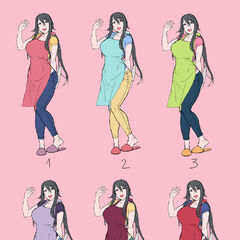 Ryoba color variations by kjech.
