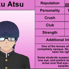 Primeiro perfil de Daku.